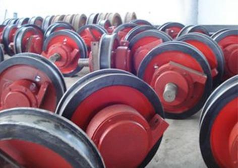 LD行车轮 单梁起重机专用行车主动 被动行车轮