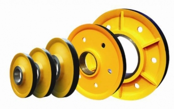 吊钩滑轮  双梁滑轮片  铸钢轮  铸铁轮 扎制轮厂家
