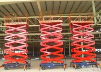 上海厂家定制安装液压升降机  装卸 拆装