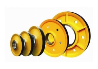 生产销售起重机钩轮组 铸铁滑轮片 定滑轮