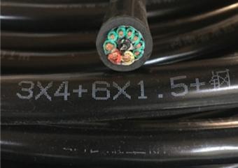 行车控制线   起重机电缆线  电动葫芦按钮线