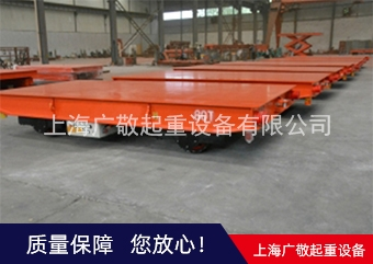 专业生产转运集装箱无轨旋转电动平车厂家