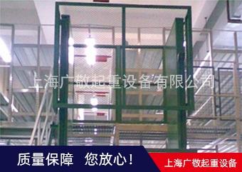 金华升降货梯 专业生产导轨链条式升降货梯